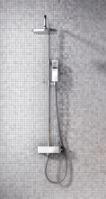 Regendouche met wandgarnituur compleet met kraan
