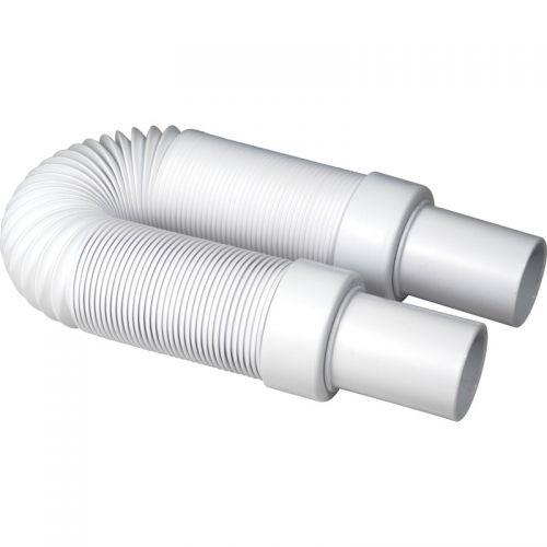 McAlpine flexibele afvoerbuis 2x spie 40 x 40mm