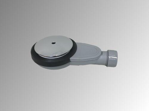 Douchebaksifon Slim 40mm met zeefje en afdekplaat