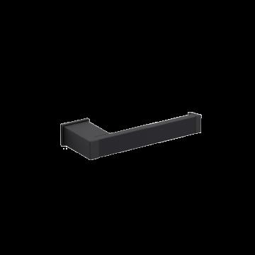 Toiletrolhouder Cube zwart