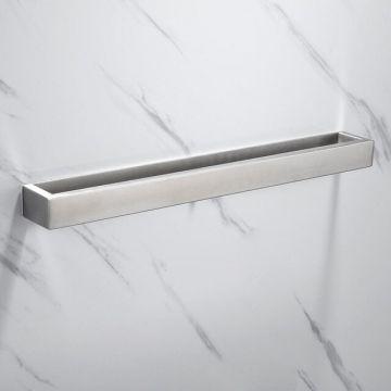 Handdoekhouder Cubic roestvrijstaal 40 cm