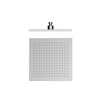 Regendouche Square RVS gepolijst vierkant 20x20cm