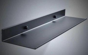 Shelf / Planchet Kubik mat zwart 40cm
