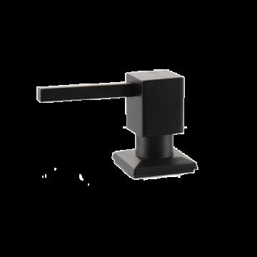 Zeepdispenser Quadro Zwart