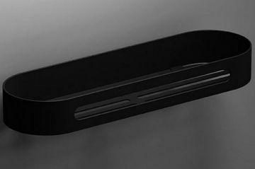 Metalen zeephouder S5 315mm mat zwart